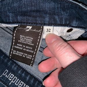 Woman's 7 for All Mankind  jeans